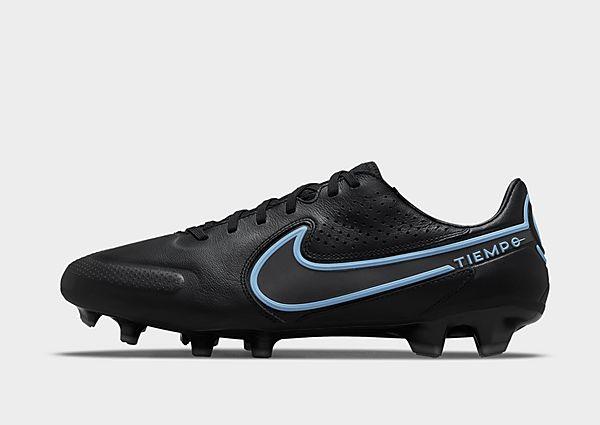Nike Nike Tiempo Legend 9 Pro FG Botas de fútbol para terreno firme, Black/Iron Grey/Black
