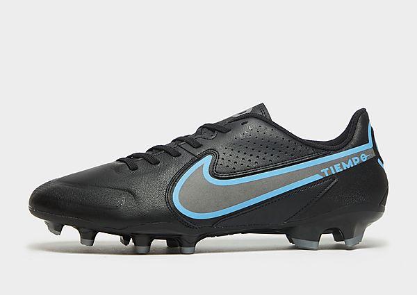 Nike Nike Tiempo Legend 9 Academy MG Botas de fútbol multisuperficie, Black/Iron Grey/Black