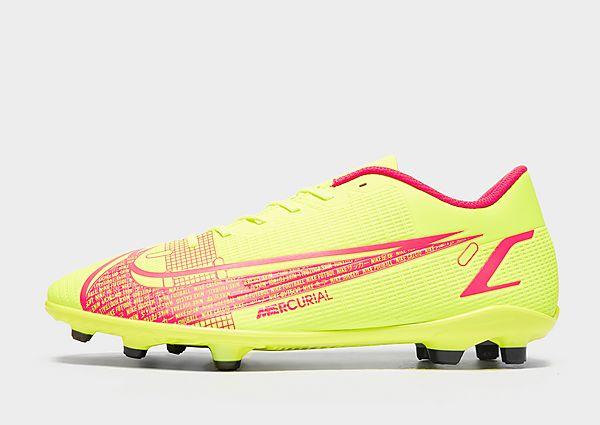 Nike Game Over Mercurial Vapor Club FG, Volt/Bright Crimson