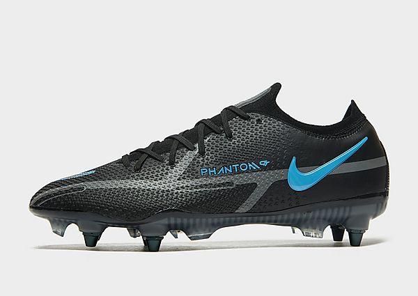 Nike Nike Phantom GT2 Elite SG-Pro AC Botas de fútbol para terreno blando, Black/Iron Grey/Black