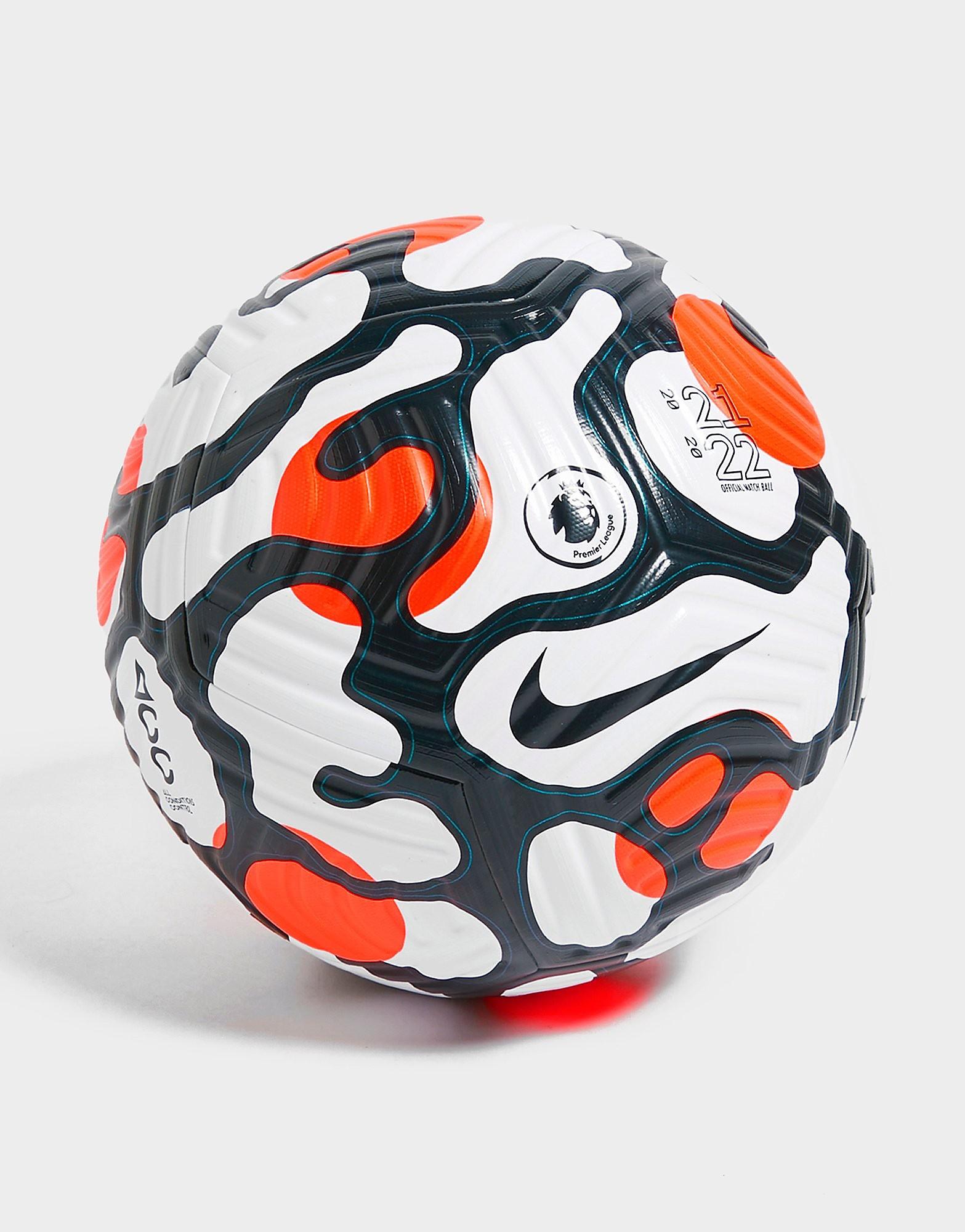 Nike English Premier League 2021/22 Fotboll, Vit