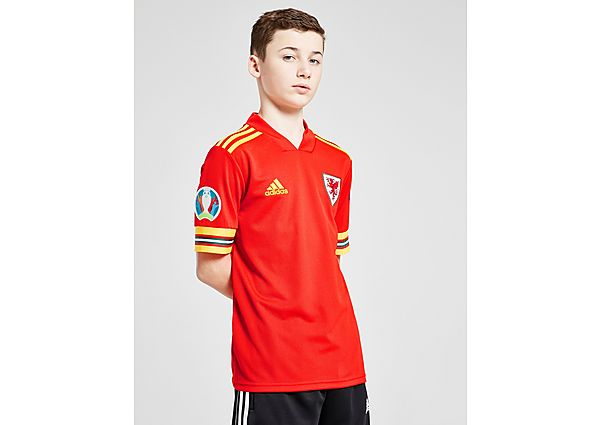 adidas camiseta Gales Euro 2020 Badged 1.ª equipación júnior (RESERVA)