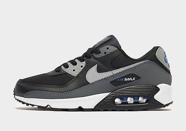 Nike Nike Air Max 90 Zapatillas - Hombre, Black/Iron Grey/Particle Grey/Reflect Silver