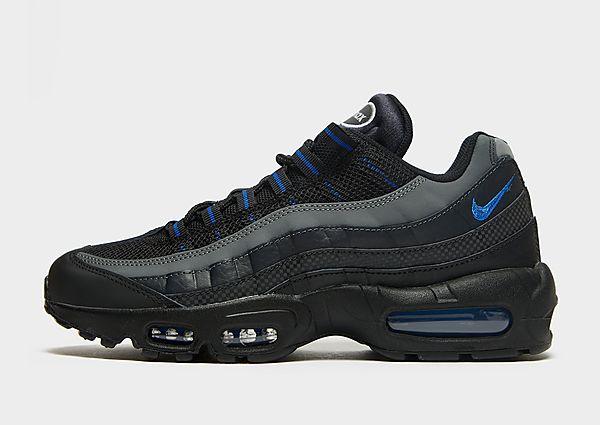 Nike Nike Air Max 95 Essential Zapatillas - Hombre, Black/Off-Noir/Dark Smoke Grey/Game Royal