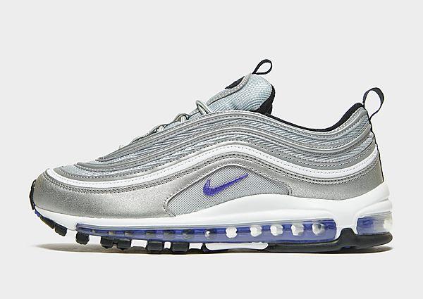 Nike Nike Air Max97 Zapatillas - Hombre, Metallic Silver/Black/White/Persian Violet