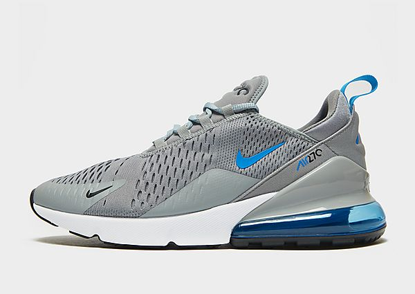 Nike Air Max 270, Particle Grey/Black/White/Light Photo Blue