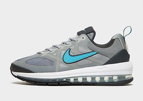 Nike Air Max Genome, Light Smoke Grey/Dark Smoke Grey/Particle Grey/Turquoise Blue
