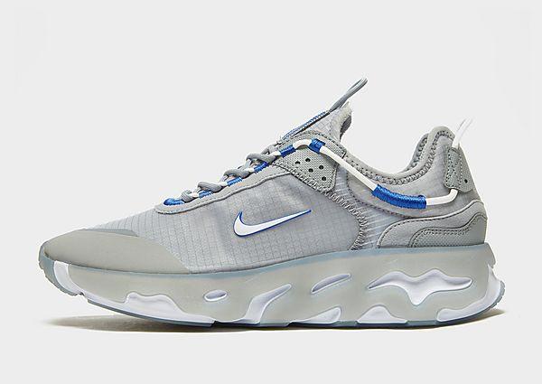 Nike React Live, Light Smoke Grey/Particle Grey/White/Hyper Royal