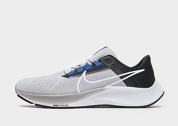 Nike Air Zoom Pegasus 38, Wolf Grey/Black/Hyper Royal/White
