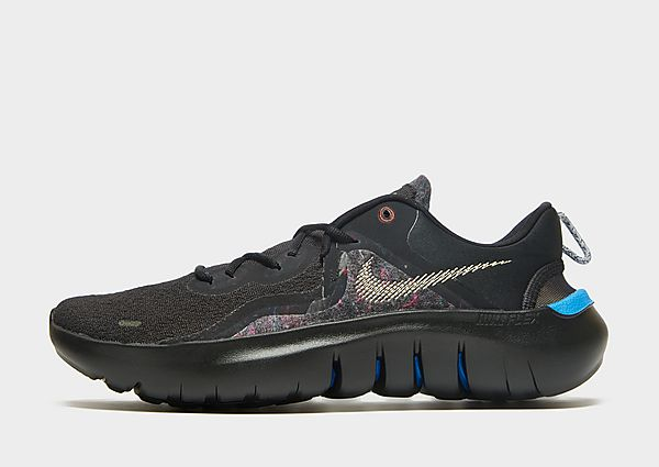 Nike Flex Run 2021, Black/Light Photo Blue/Dark Pony/Melon Tint