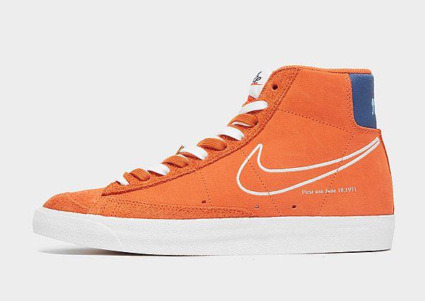 Nike Blazer Mid S50, Orange/Deep Royal Blue/University Blue/White