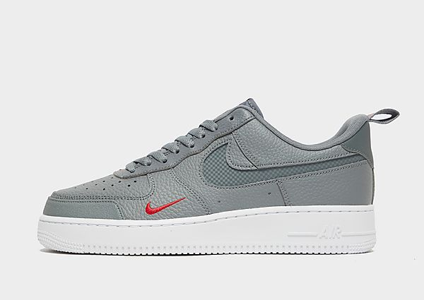 Nike Air Force 1 '07 LV8, Smoke Grey/University Red/White/Smoke Grey