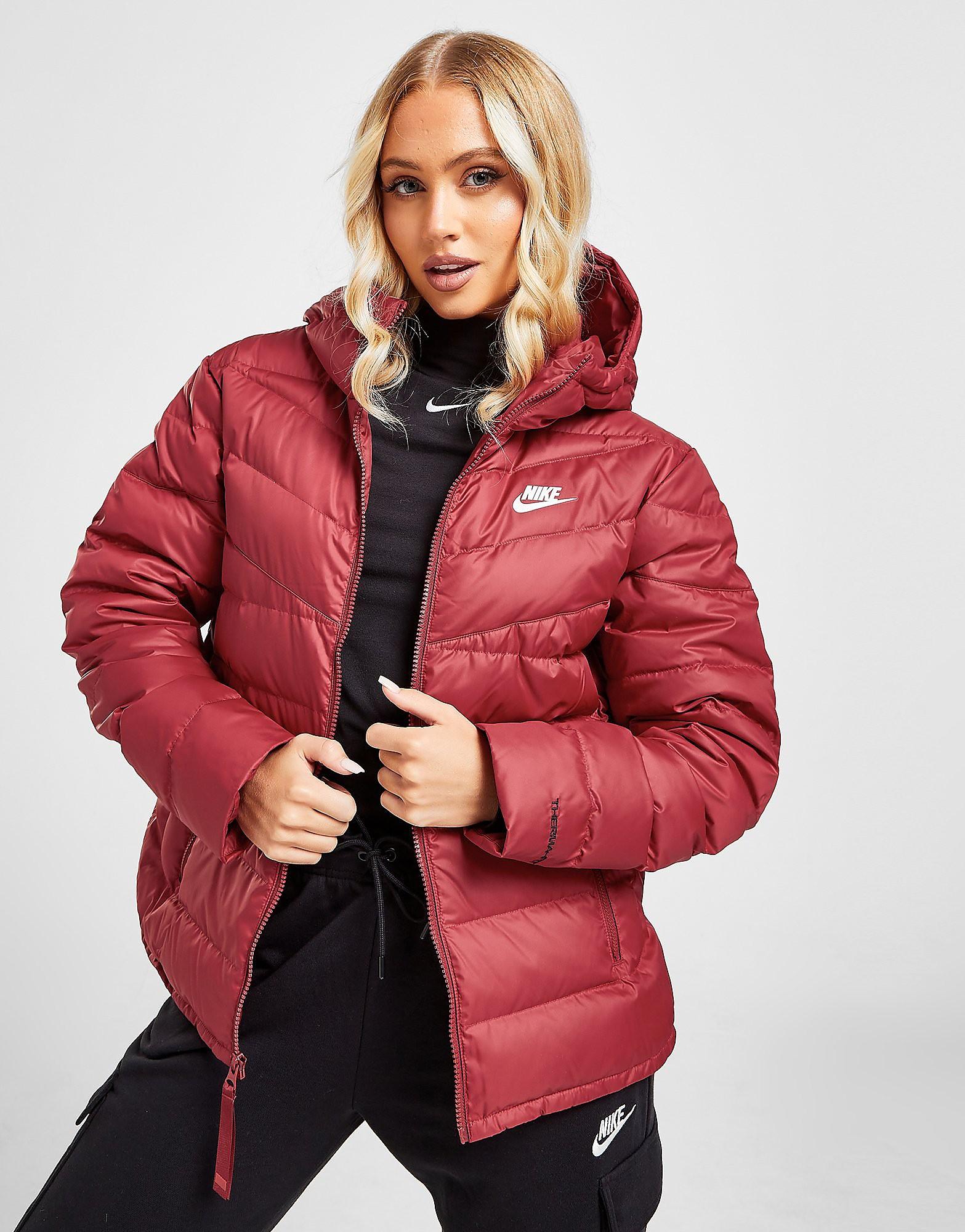 Nike Therma-FIT Windrunner Jacket, Röd