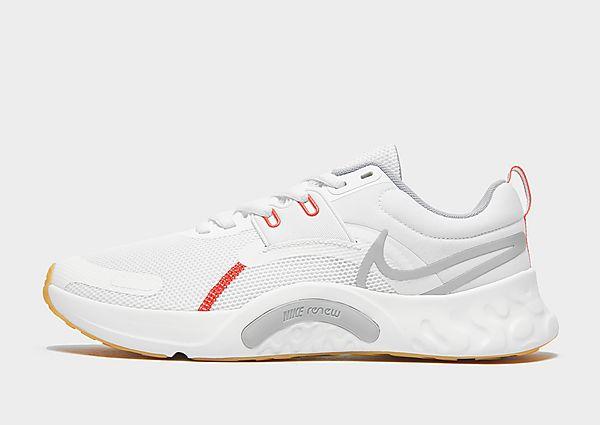 Nike Nike Renew Retaliation TR 3 Zapatillas de entrenamiento - Hombre, White/Summit White/Chile Red/Light Smoke Grey