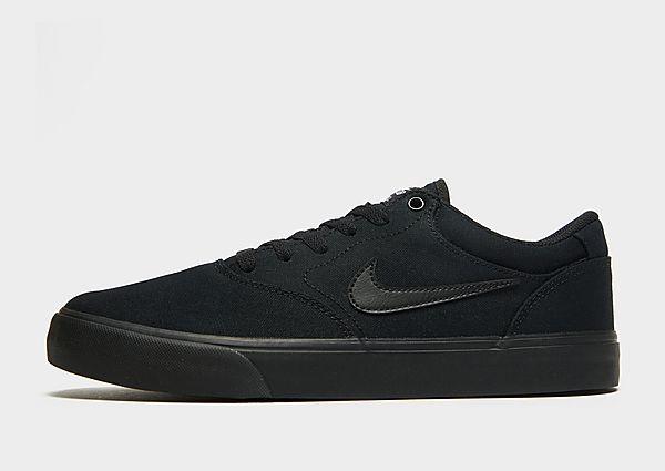 Nike SB Nike SB Chron 2 Canvas Zapatillas de skateboard, Black/Black/Black
