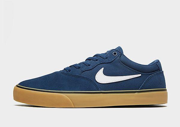 Nike SB Nike SB Chron 2 Zapatillas de skateboard, Navy/Navy/Gum Light Brown/White