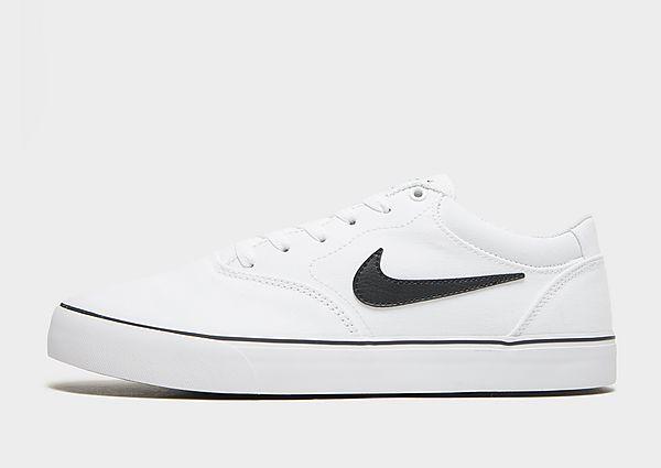 Nike SB Chron 2 Canvas, White/White/Black