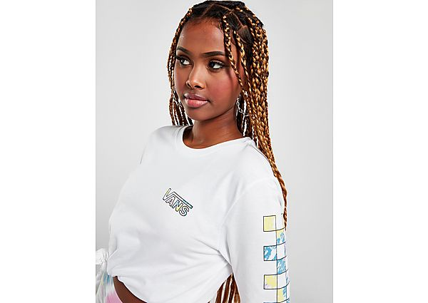Ropa deportiva Mujer Vans camiseta de manga larga Tie Dye Vibe