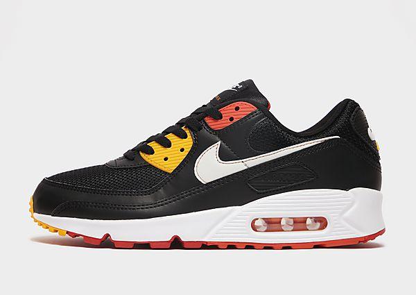 Nike Nike Air Max 90 Zapatillas - Hombre, Black/Cosmic Clay/Kumquat/White