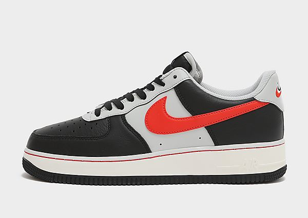 Nike Nike Air Force 1 '07 LV8 Zapatillas - Hombre, Black/Grey Fog/Sail/Chile Red