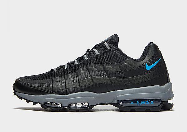 Nike Nike Air Max95 Ultra Zapatillas - Hombre, Black/White/Cool Grey
