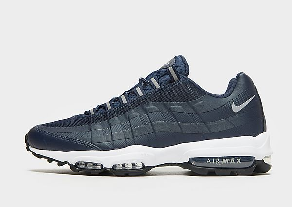 Nike Nike Air Max95 Ultra Zapatillas - Hombre, Obsidian/White/Black/Particle Grey