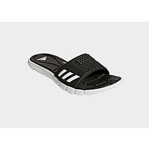 60cf49d685ac67 Adissage Slides Black   Black   Cloud White 087609. ADIDAS Adipure  Cloudfoam Slides ADIDAS Adipure Cloudfoam Slides
