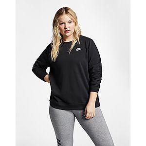 NIKE Nike Sportswear Club Women s Fleece Crew (Plus Size) dff78076c1