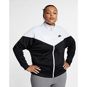 471183f44e NIKE Nike Sportswear Heritage Women s Track Jacket (Plus Size)
