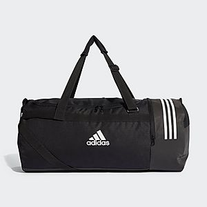ADIDAS Convertible 3-Stripes Duffel Bag Large ... 87a370be3c0be