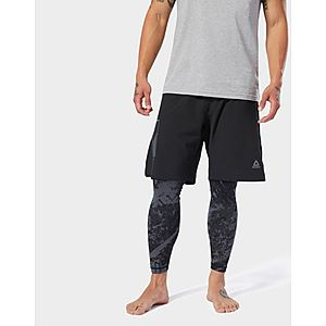 0cd35696327b REEBOK Combat Woven Boxing Shorts ...