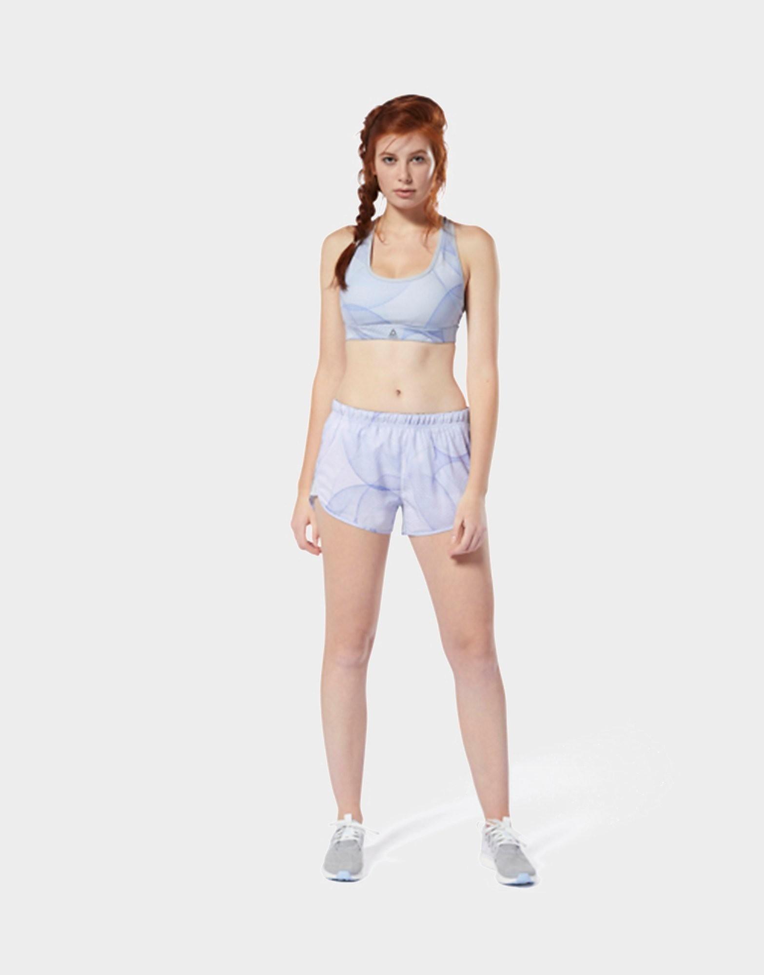 REEBOK Running Printed Shorts
