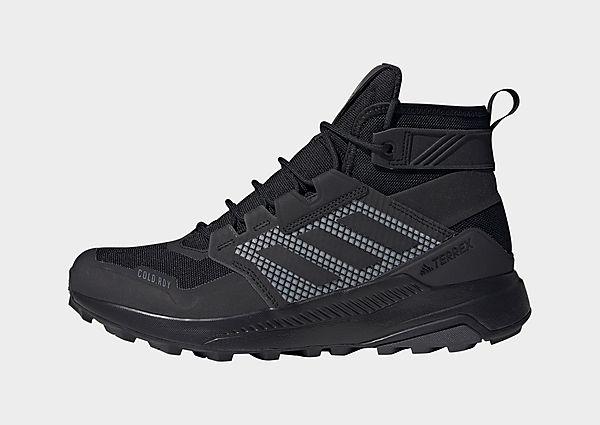 adidas Zapatilla de senderismo Terrex Trailmaker Mid COLD.RDY, Core Black / Core Black / Dgh Solid Grey
