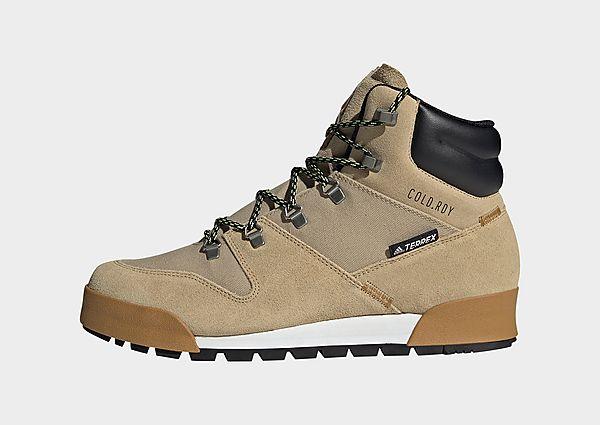 adidas Bota Terrex Snowpitch COLD.RDY Hiking, Beige Tone / Wonder White / Mesa