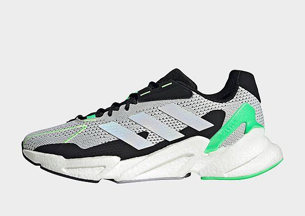 adidas Zapatilla X9000L4, Crystal White / Cloud White / Screaming Green