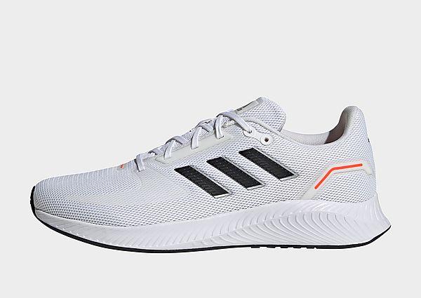 adidas Zapatilla Run Falcon 2.0, Cloud White / Core Black / Solar Red