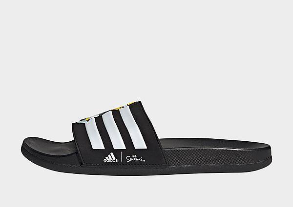 adidas Originals The Simpsons Adilette Comfort Slides, Core Black / Cloud White / Core Black