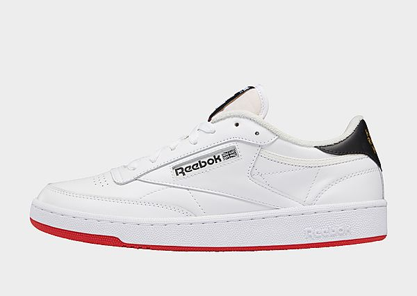 Reebok human rights now! club c 85, Cloud White / Chalk / Vector Red