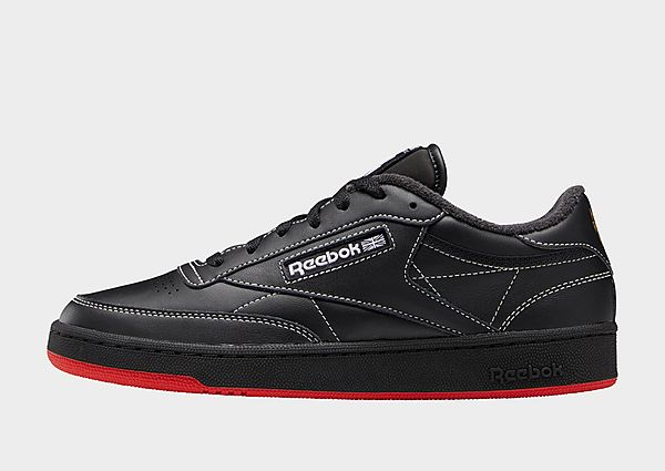 Reebok human rights now! club c 85, Core Black / Pure Grey 8 / Vector Red