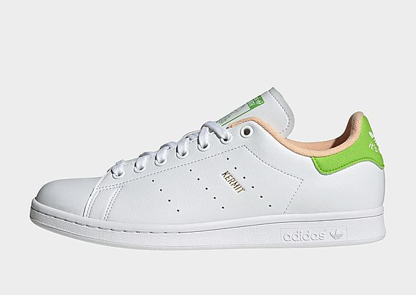 adidas Originals Stan Smith Disney Miss Piggy and Kermit, Cloud White / Pantone / Pantone
