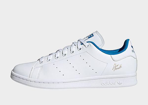 adidas Originals Zapatilla Stan Smith, Cloud White / Cloud White / Bright Blue