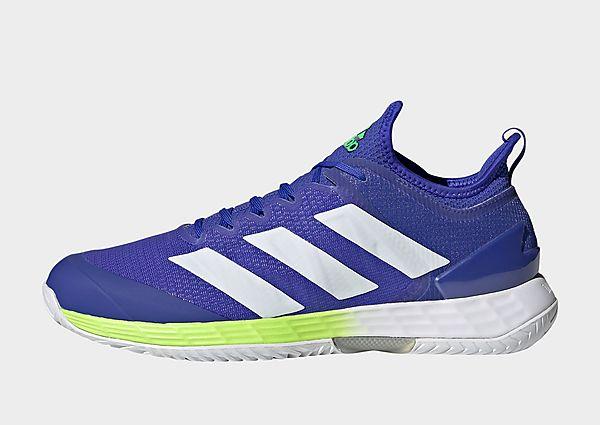 adidas Zapatilla Adizero Ubersonic 4 Tennis, Sonic Ink / Cloud White / Signal Green
