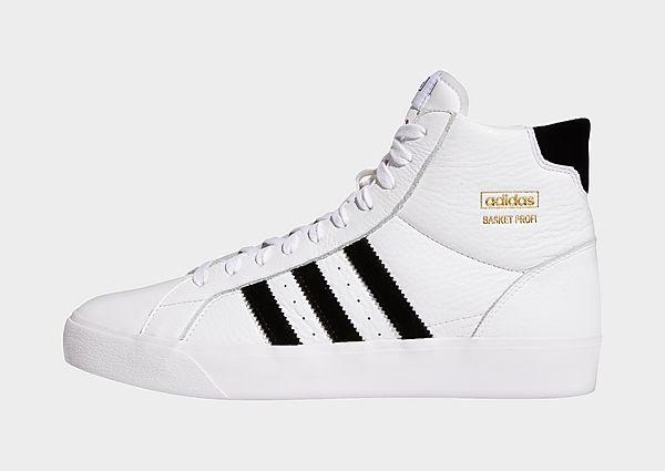adidas Originals Zapatilla Basket Profi, Cloud White / Core Black / Gold Metallic