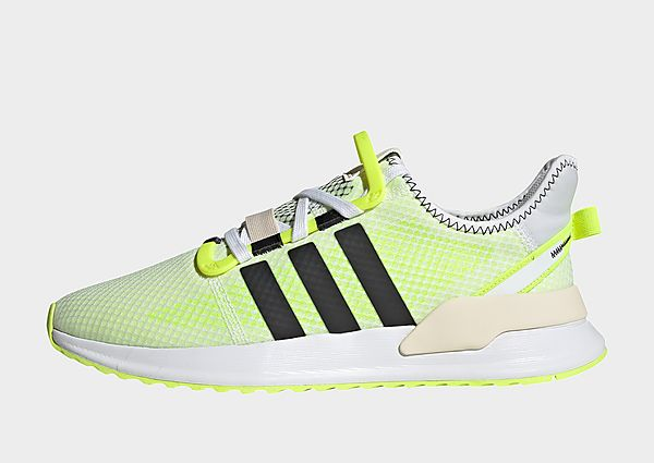 adidas Originals Zapatilla U_Path Run, Cloud White / Carbon / Solar Yellow