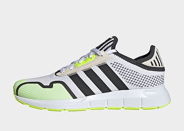 adidas Originals Zapatilla Swift Run X, Cloud White / Carbon / Solar Yellow