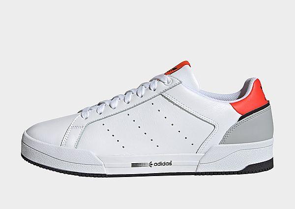adidas Originals Zapatilla Court Tourino, Cloud White / Semi Solar Red / Grey Two