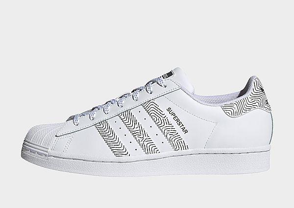 adidas Originals Zapatilla Superstar, Cloud White / Cloud White / Cloud White