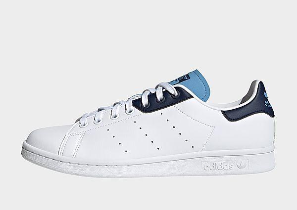 adidas Originals Zapatilla Stan Smith, Cloud White / Collegiate Navy / Light Blue