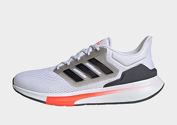 adidas Zapatilla EQ21 Run, Cloud White / Core Black / Grey Six