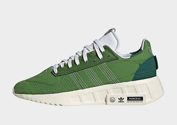 adidas Originals Zapatilla Geodiver Primeblue, Crew Green / Cloud White / Core Black